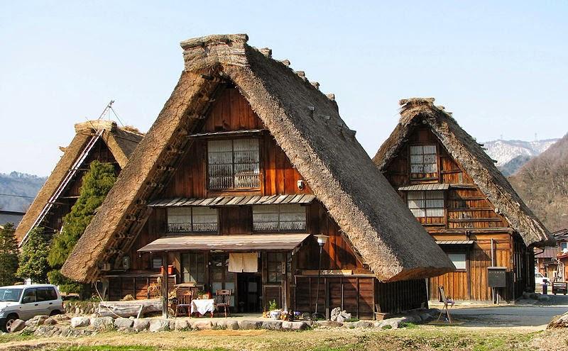 บ้านพักที่เป็นแบบกัสโชซูคุริ