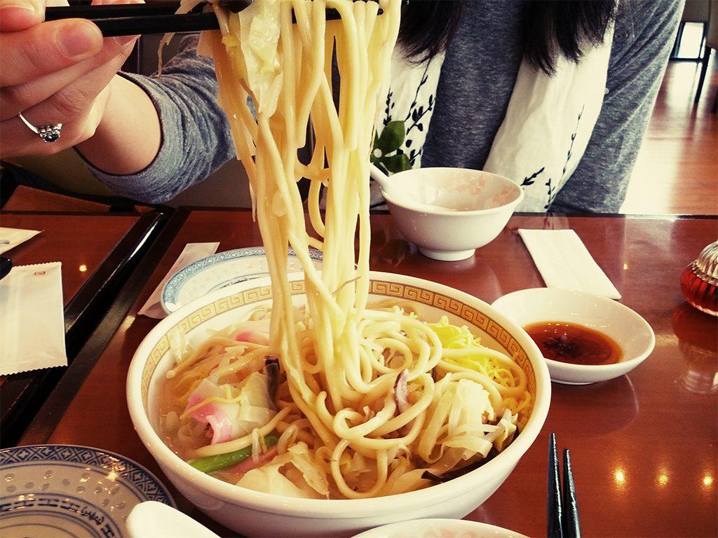 Champon noodle