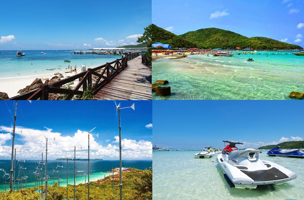 เที่ยว 6 เกาะสวย เที่ยวทะเล ใกล้กรุงเทพ