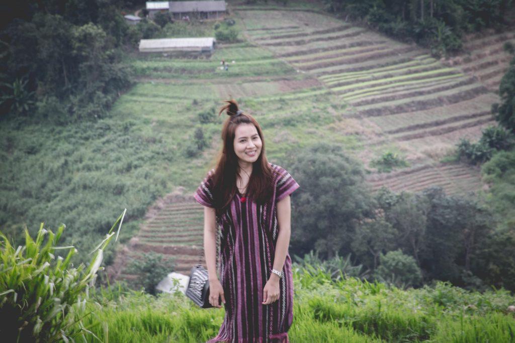 นักท่องเที่ยวสาว