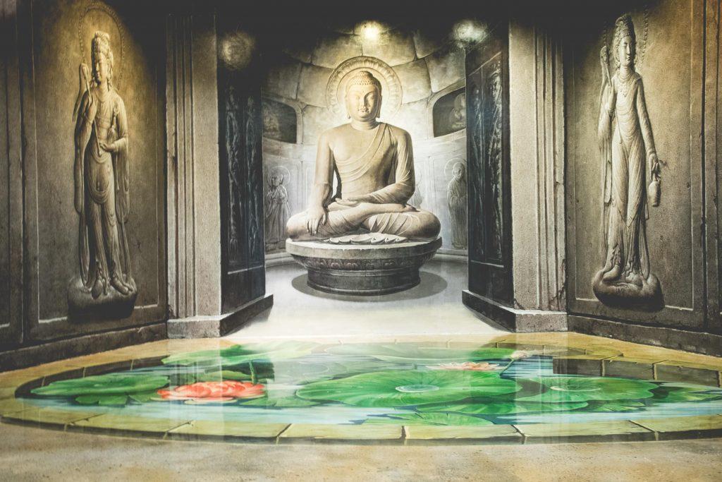 รูปภาพ 3 มิติของพระพุทธรูป
