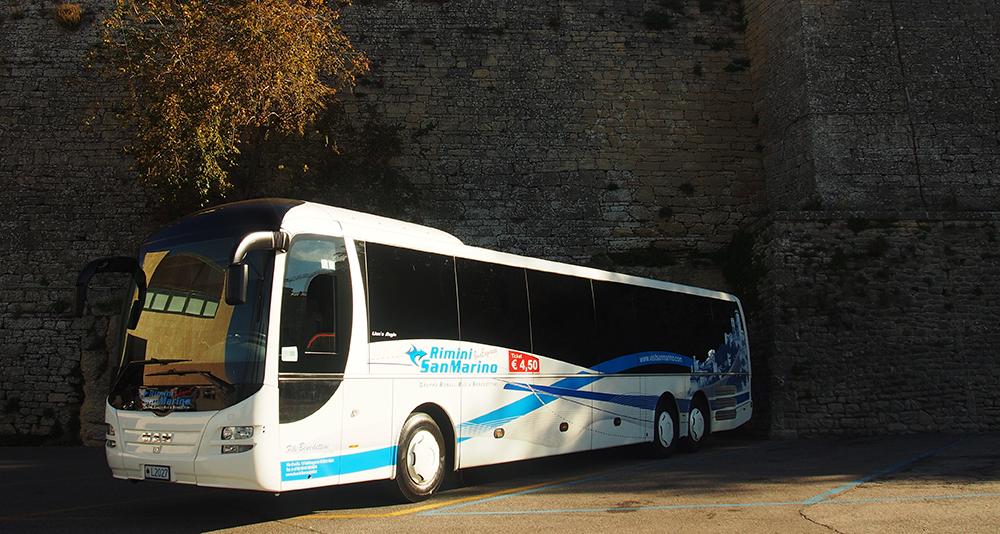 รถ Rimini-San Marino